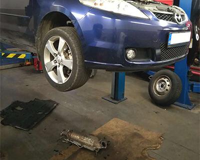 kompletní služba čištění DPF Mazda
