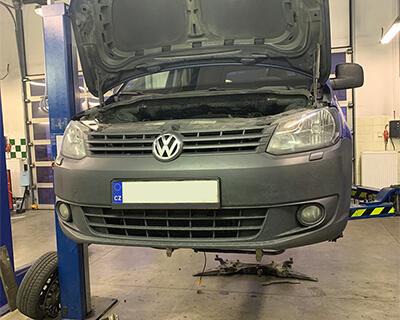 kompletní služba čištění DPF Volkswagen