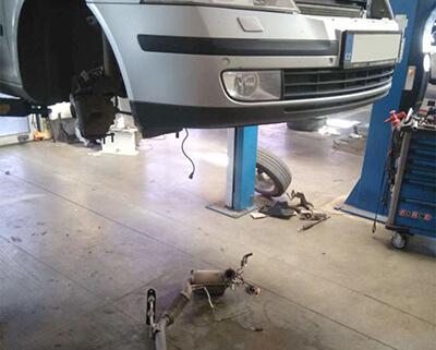 kompletní služba čištění DPF Audi